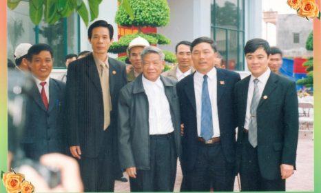 Ngày ấy nguyên Tổng Bí thư Lê Khả Phiêu về thăm Hợp Lực