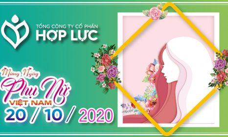 Thư chúc mừng của Chủ tịch HĐQT Tổng Công ty Cổ phần Hợp Lực nhân ngày phụ nữ Việt Nam 20/10