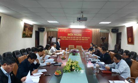Hội nghị kiểm điểm, đánh giá xếp loại tập thể Đảng uỷ Tổng Công ty Cổ phần Hợp Lực năm 2020